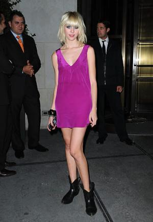 pink dress for girls taylor momsen