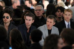 Celebrity Calvin Klein Suit jared leto