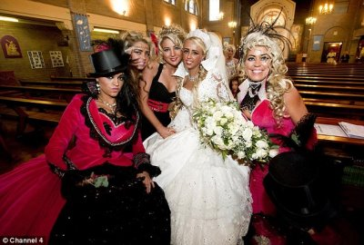 gypsy wedding gowns are fabulous