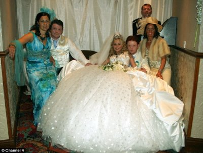 gypsy wedding gowns are the best