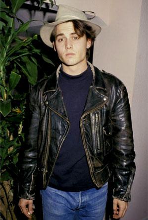 Johnny Depp Leather Jacket style