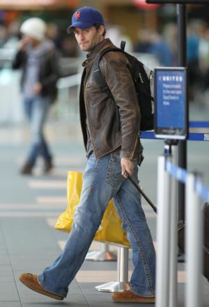 mens jeans and leather jacket style