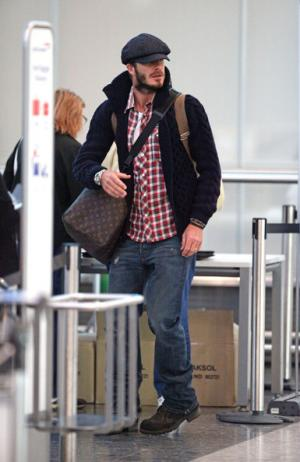 David Beckham Newsboy Hat