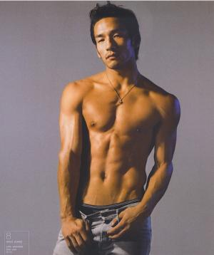 Hidetoshi Nakata shirtless body
