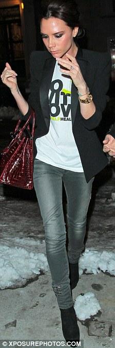 victoria beckham jeans fashion