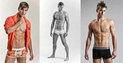 Denis Goossens underwear model