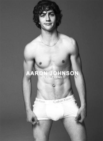 aaron johnson underwear