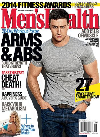 aaron taylor-johnson muscles workout