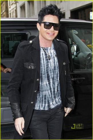 Adam Lambert Out And About In London (USA ONLY)