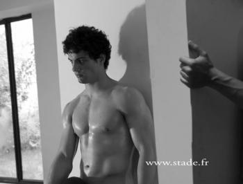 aristide barraud shirtless dieux du stade
