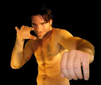 charles dera shirtless mma fighter