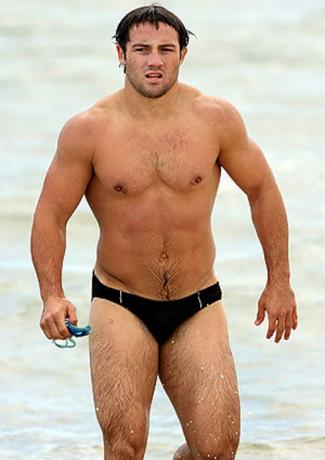 australian rugby players in speedo - cooper cronk