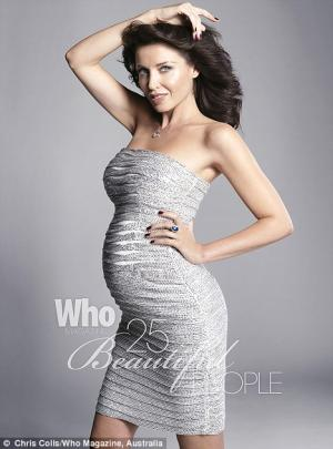 dannii minogue maternity dress