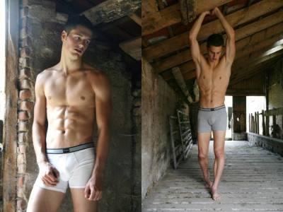denis goossens shirtless underwear model photos