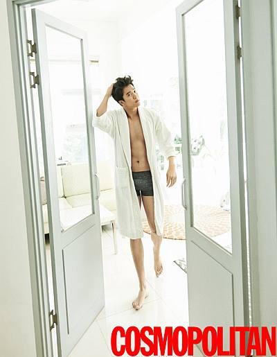 korean mens underwear models Seok Jin Ha for croota