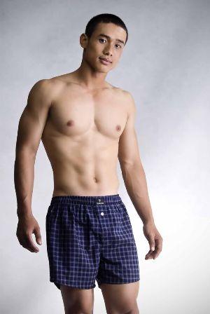 Hot Vietnamese Guys Le Minh Hieu boxer shorts