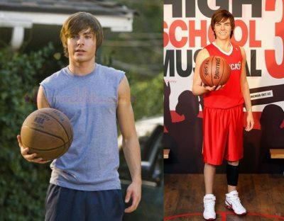 ten boys in shorts - zac efron basketball3