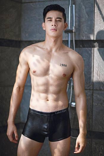 vietnamese male underwear models - Ho Vinh Khoa