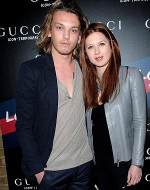 bonnie wright jamie campbell bower engaged