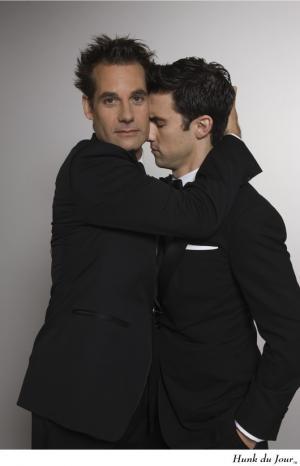 celebrity tuxedo suits for men Milo Ventimiglia