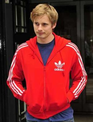 celebrities wearing adidas bradley james hoodie