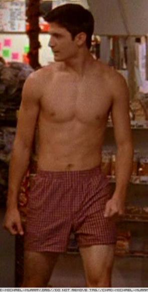 chad michael murray shirtless