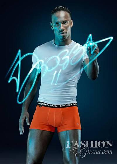 Didier Drogba underwear