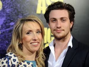 celebrity cougar - sam taylor and aaron johnson