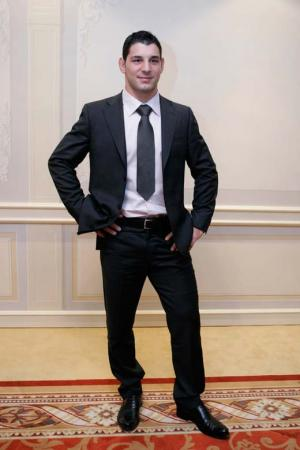 hot men in suit andrea minguzzi italian wrestler