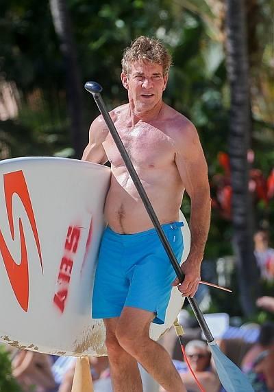 beach hunks and bods celebrity edition - dennis quaid
