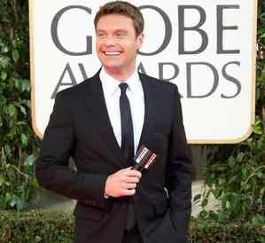 celebrities wearing burberry suits ryan seacrest