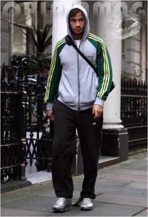 celebrities wearing adidas