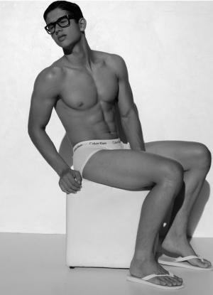 brazilian male underwear models - elvis fernando calvin klein