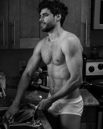 hot brazilian male models caio cesar in underwear