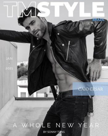 hot brazilian male models caio cesar magazine cover2