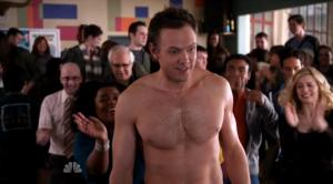 joel mchale shirtless