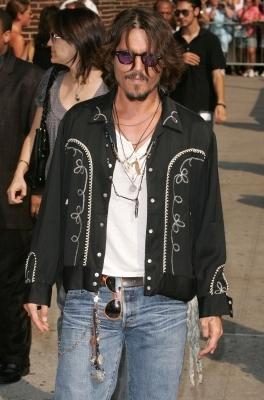 Celebrity Levis 501 Jeans Johnny Depp