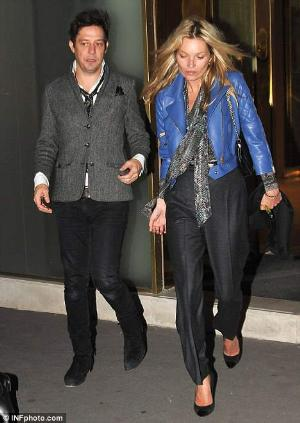 ysl blue leather jacket for women - kate moss ysl