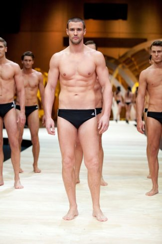 kris smith adidas swimwear model