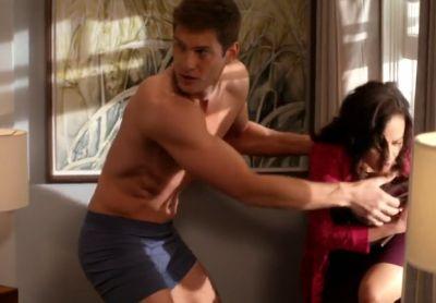 ryan mcpartlin boxer briefs underwear in devious maids2