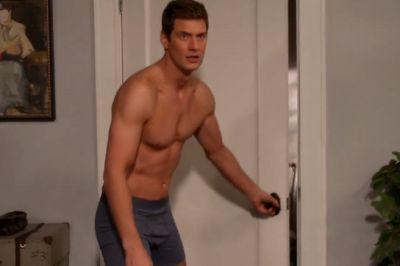 ryan mcpartlin boxer briefs underwear in devious maids3
