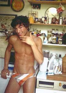 valerio pino shirtless in speedo