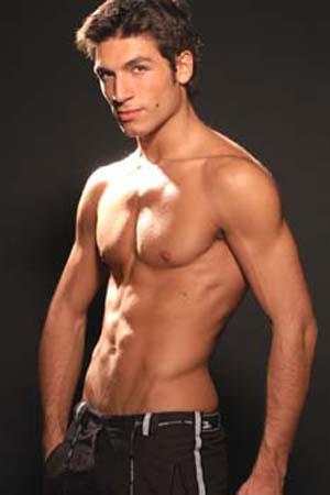 valerio pino shirtless