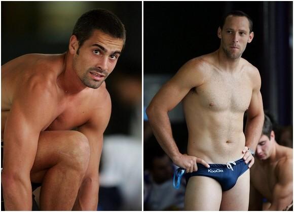 Aussie Football Players Speedo Western Bulldogs