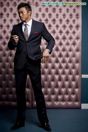 Hot Guys in Suit and Tie Yoshihiro Akiyama