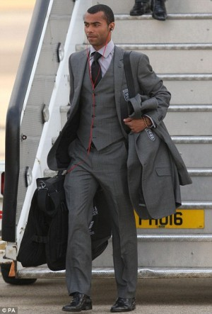 ashley cole sexy in suit