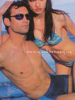 French Male Underwear Models fabrize wattez