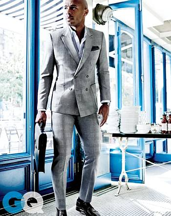 footballer in suit - thierry henry in lanvin