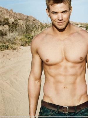 celebrities with smooth chests - kellan lutz
