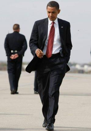 Hot Guys in Suit and Tie Obama